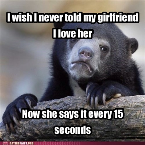 i love you Confession Bear funny dating - 7571328768