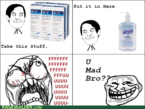 Purell trolling hand sanitizer u mad bro ky jelly - 7571766784
