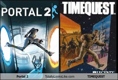 timequest,Videogames,totally looks like,funny,portal 2