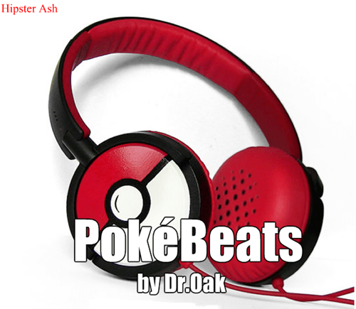Pokémon professor oak headphones