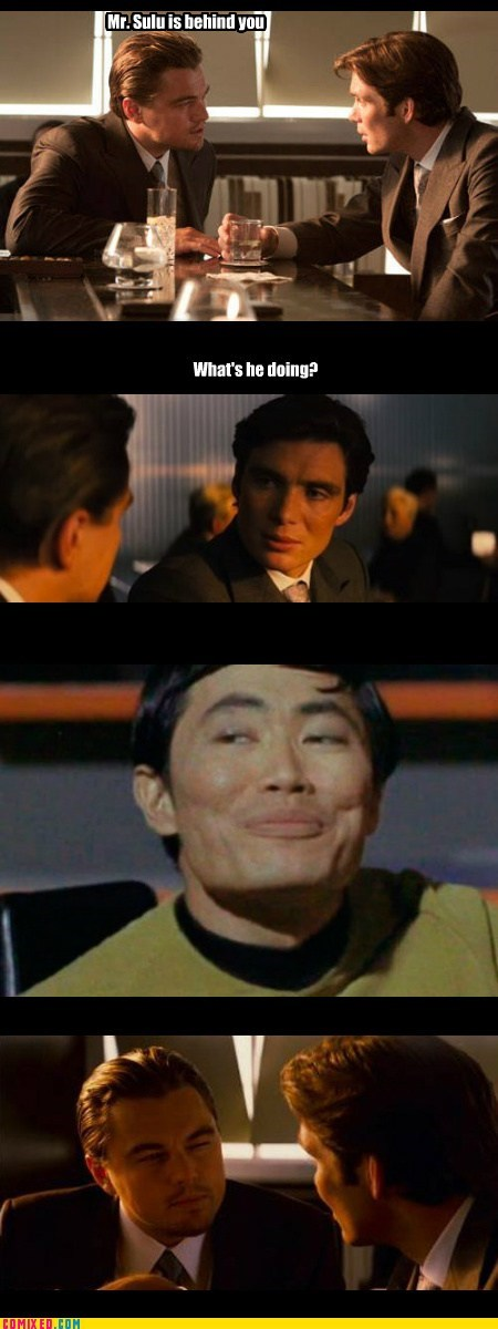 Inception,Star Trek,sulu,funny