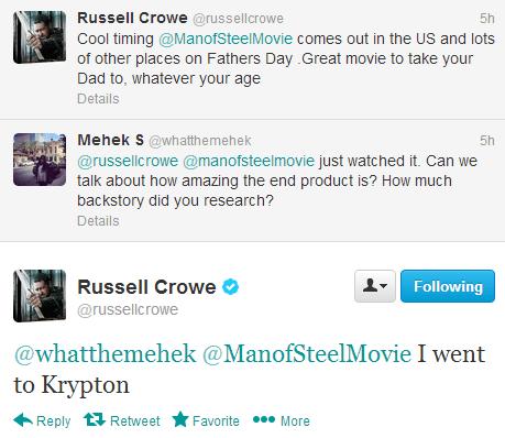 Russell Crowe krypton funny - 7572086016