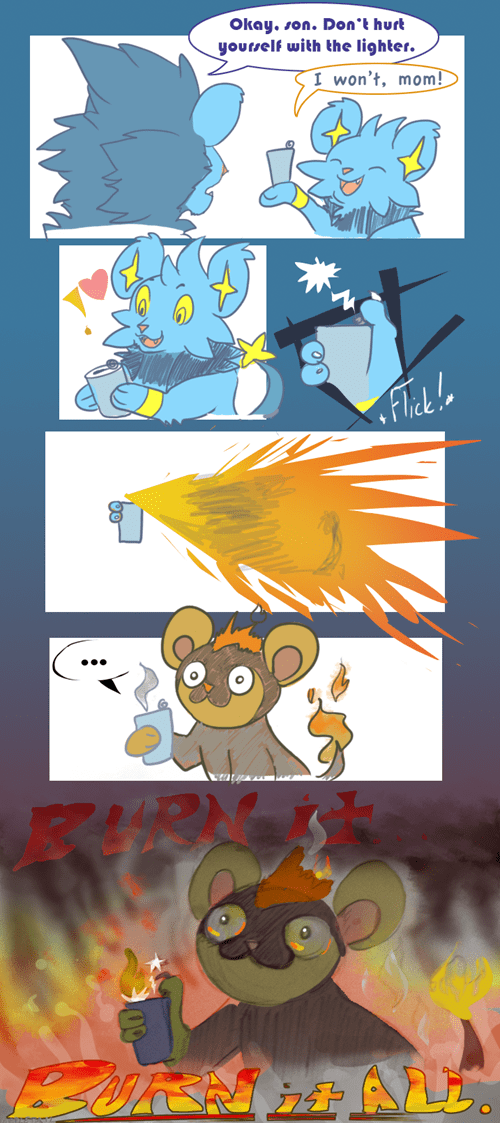 art,litleo,shinx,comics