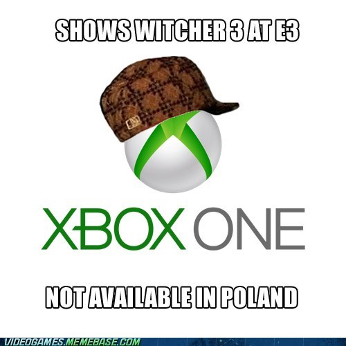 witcher 3,scumbag,e3,xbox one