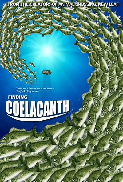new leaf coelacanth animal crossing - 7572151296
