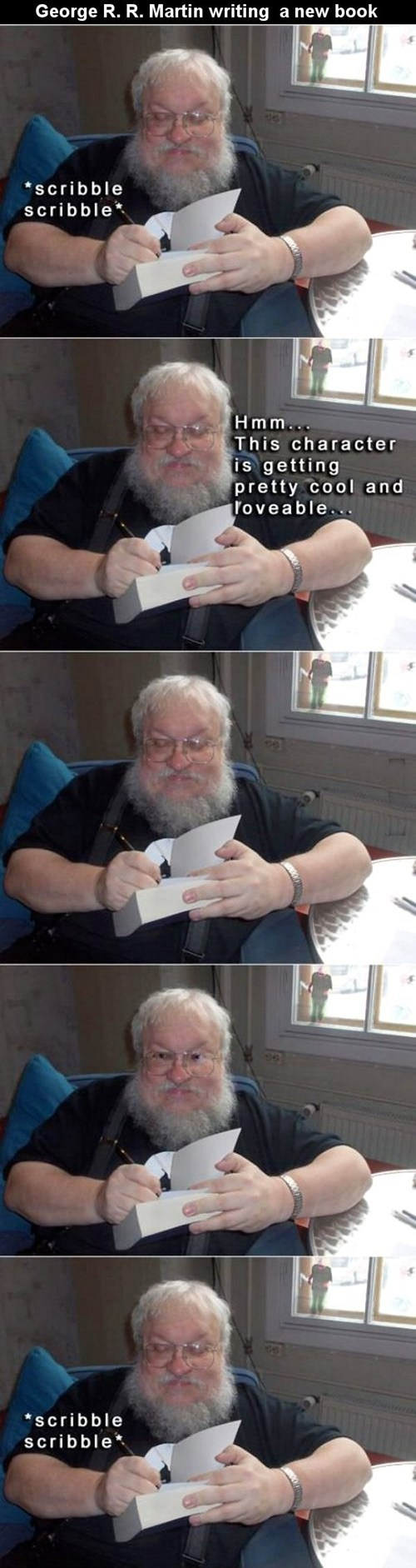 writers Game of Thrones george r r martin - 7572230656