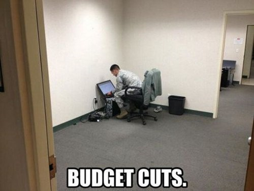 offices work budget cuts - 7572231680