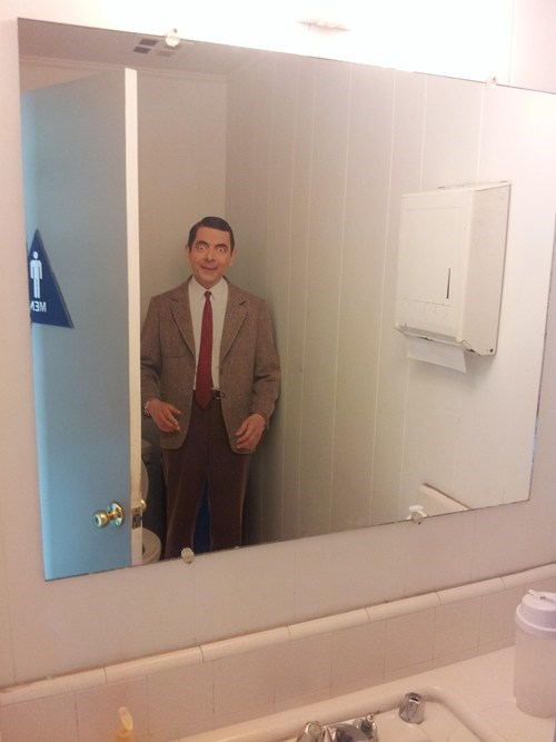 mr bean,bathroom,monday thru friday,mr bean,g rated