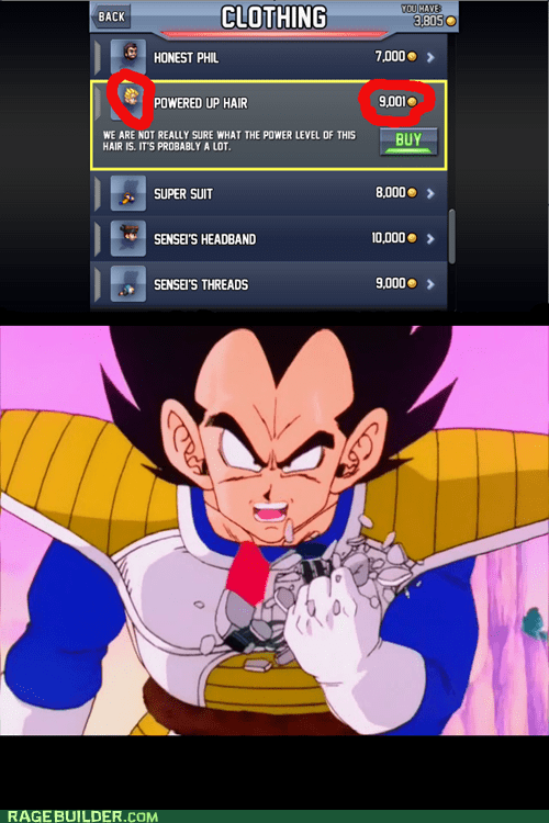 over 9000,vegeta