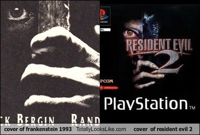 frankenstein totally looks like resident evil 2 resident evil funny