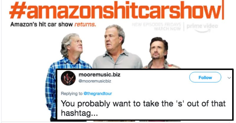top gear jokes hashtags whoosh facepalm lol dumb joke mistake funny stupid - 7572485