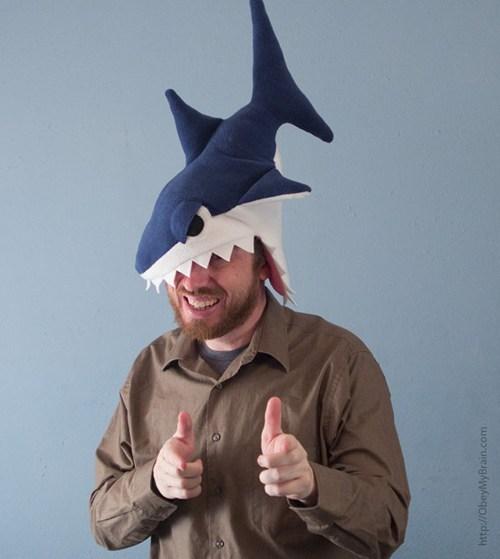 hats sharks funny - 7572494592
