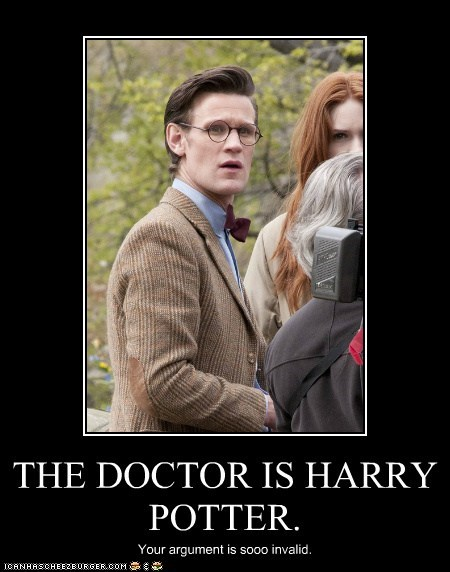 Harry Potter glasses doctor who - 7572768000