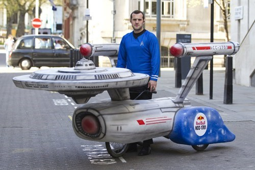 soapbox derby car,Star Trek,DIY
