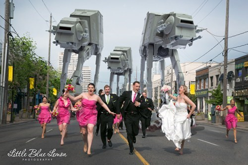 star wars nerdgasm weddings funny - 7572850432