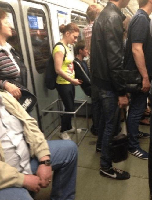 personal bubble,public transit,funny