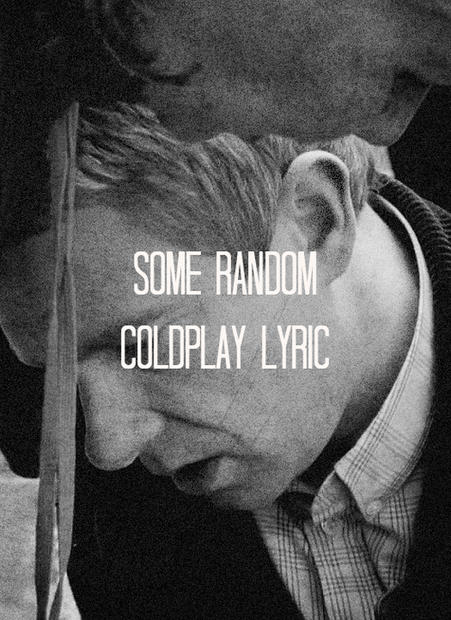 coldplay Sherlock bbc - 7573111808