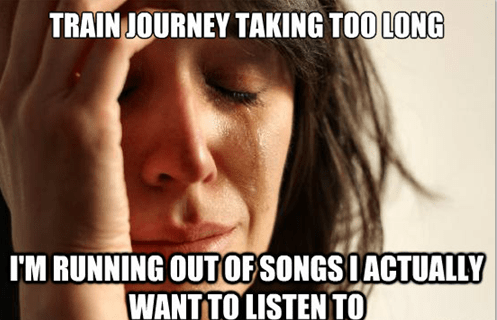 Music First World Problems funny - 7573133312