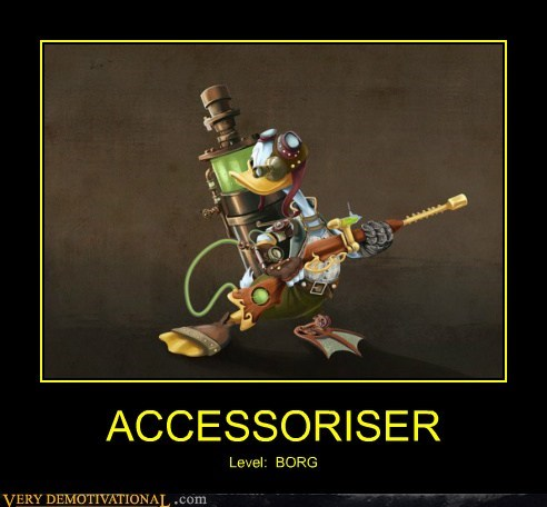 donald duck,accessories,borg,funny