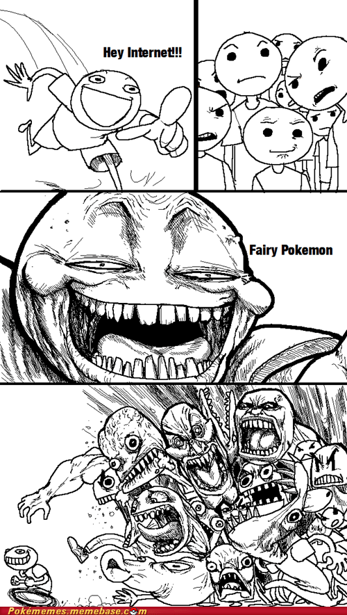 Pokémon Pokémemes fairy types - 7573965312