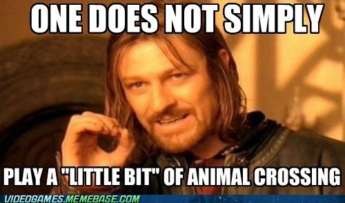one does not simply,Memes,animal crossing