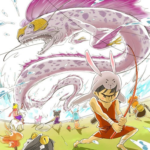 okamiden Fan Art nanami video games - 7575654656