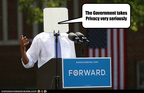 Privacy Initiative The Government takes Privacy very seriously