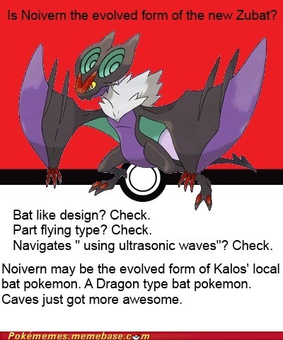 noivern Pokémon bats get repels ready - 7576374272