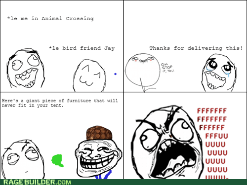 trolling animal crossing video games