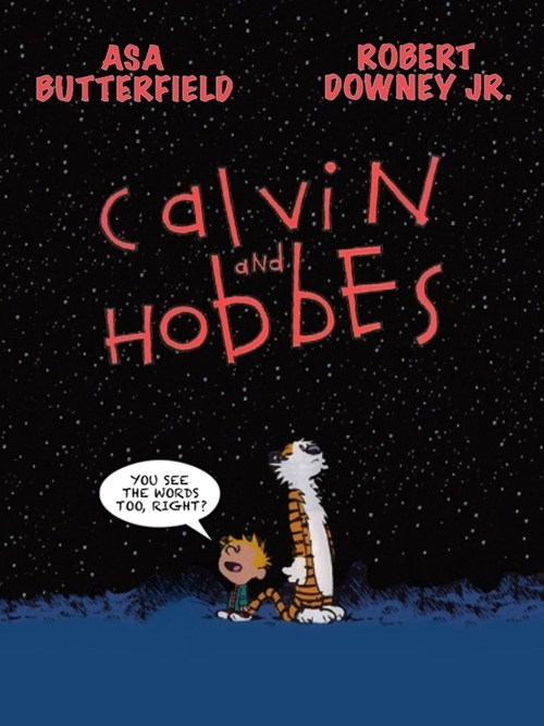 calvin and hobbes movies Fan Art - 7576847104