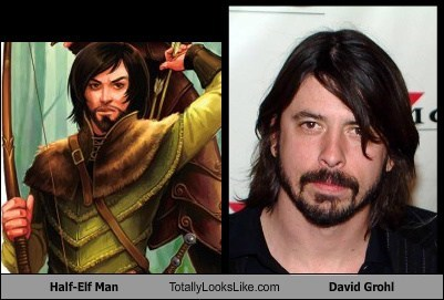 david grohl totally looks like elves funny - 7577649664