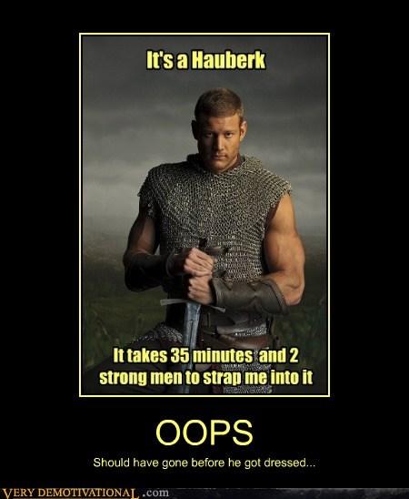 medieval chainmail hauberk funny - 7577853696