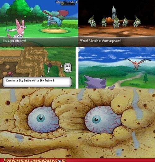 SpongeBob SquarePants,Memes,pokemon x/y