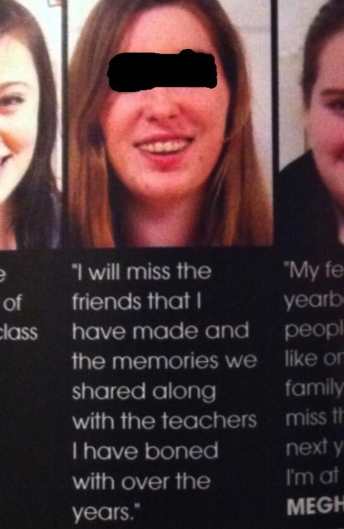 yearbook typos yearbook quotes - 7579125504