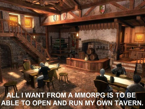 taverns,MMORPGs,video games,economy
