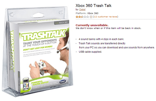 amazon xbox trash talk - 7579150336