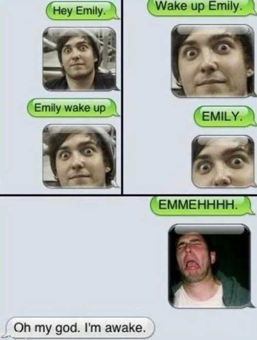 wake-up calls trolling funny nightmares g rated AutocoWrecks