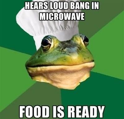 cooking foul bachelor frog Memes - 7579487488