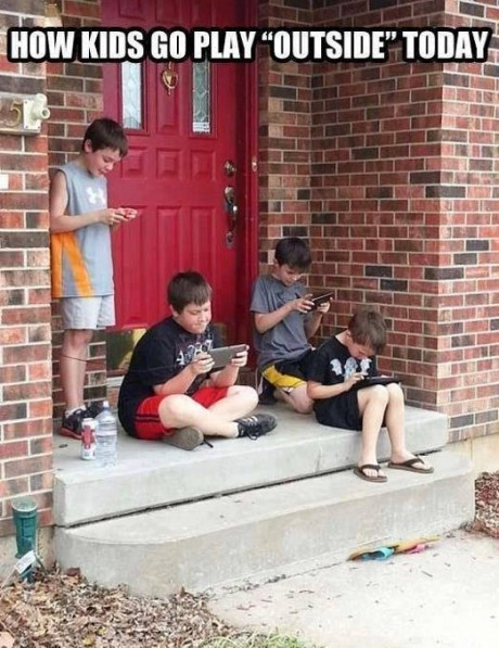 kids IRL gaming outside - 7579529216