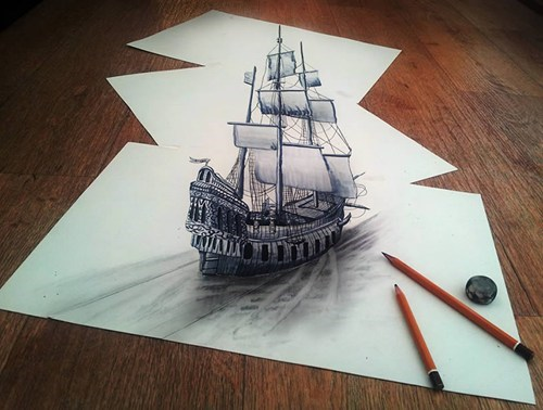drawing art perspective - 7579582976