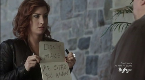 signs,claudia donovan,warehouse 13