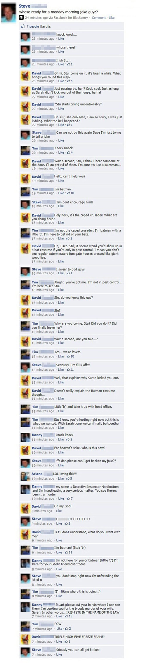 jokes,trolling,knock knock joke,failbook