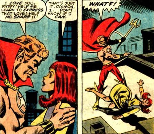 hellstrom,wtf,off the page,rejection,funny