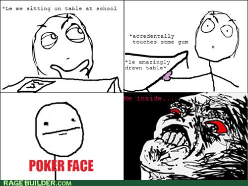 gum classroom desk poker face - 7579976960