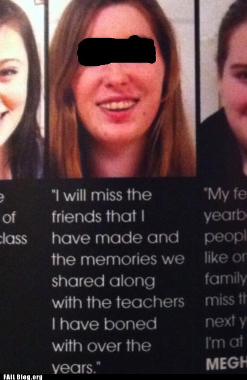 quotes,yearbooks,funny