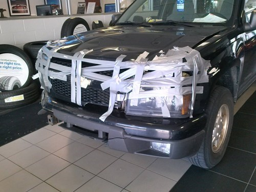 cars duct tape funny trucks