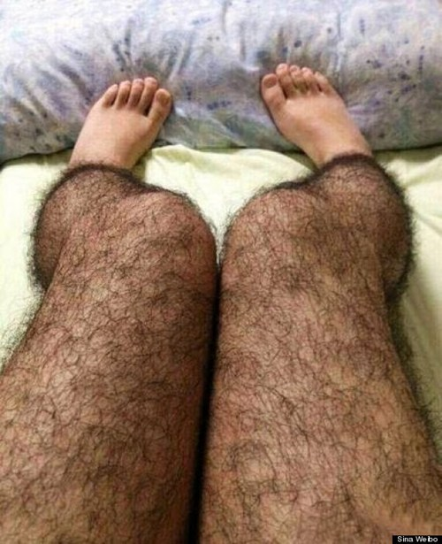 hairy legs hairy situation leggings funny poorly dressed - 7582023680