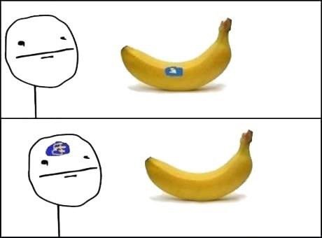 chiquita potassium bananas poker face - 7582171136
