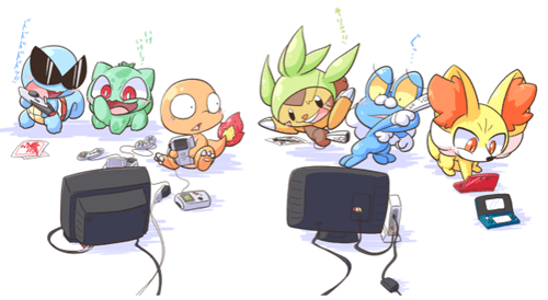 The Different Generations of Pokemon Play Different Games