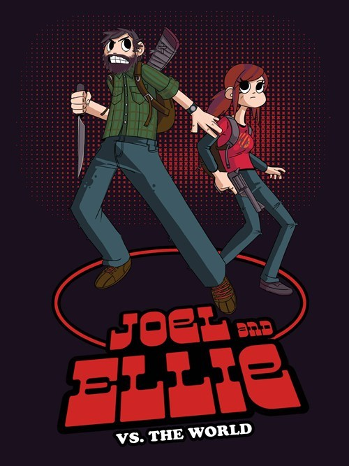 scott pilgrim,the last of us